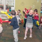 Лунтик и Мила на детский Праздник