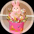Вкусные добавки: сахарная вата, шоколадный фонтан