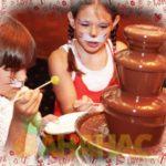 шоколадный фантан 4