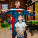 Супермен на детский Праздник