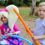 Команда Барбоскины на детский Праздник