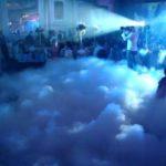 Шоу дымовых колец  на Детский Праздник
